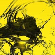 3D yellow dream Art Print