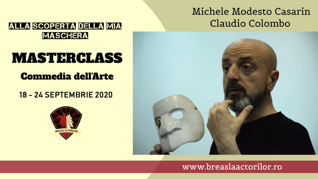 Masterclass Commedia dell'Arte by Michele Modesto Casarin
