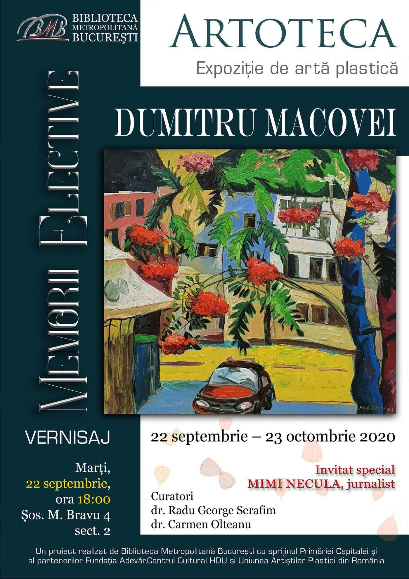 Vernisaj Dumitru Macovei @ Biblioteca Metropolitana Bucuresti