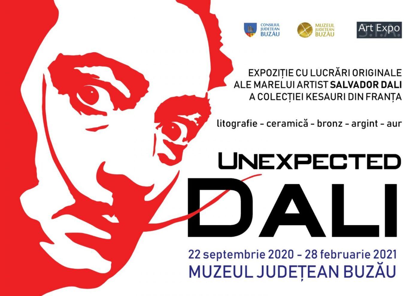 "Salvador Dali - ""Unexpected Dali"" @ Buzau County Museum"