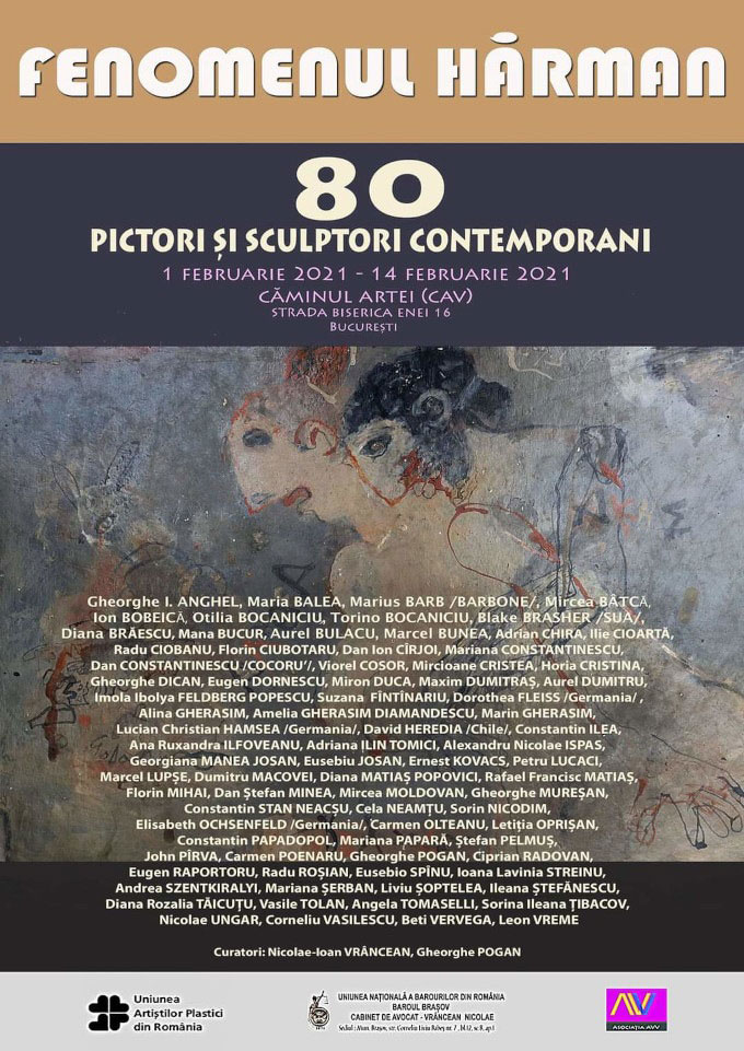 "Moments from "" Fenomenul Harman "" exhibition @ CAV (Caminul artei)"